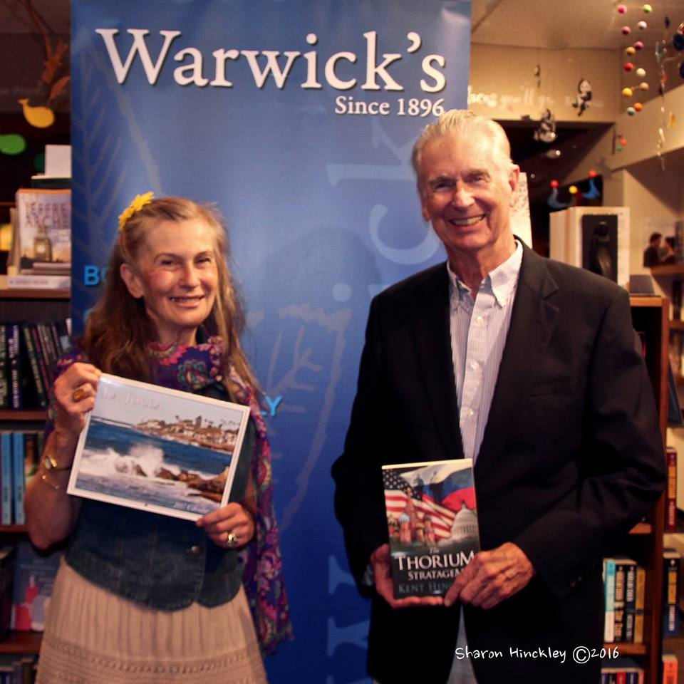 Kent and Sharon at The Thorium Stratagem Book Launch at Warwicks